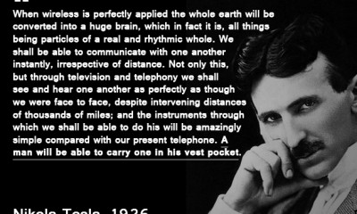 PatentYogi_Patent Quote of the Week_Nikola Tesla predicted smartphone in 1926!