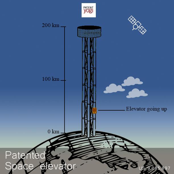 PatentYogi_9,085,897_Space-elevator