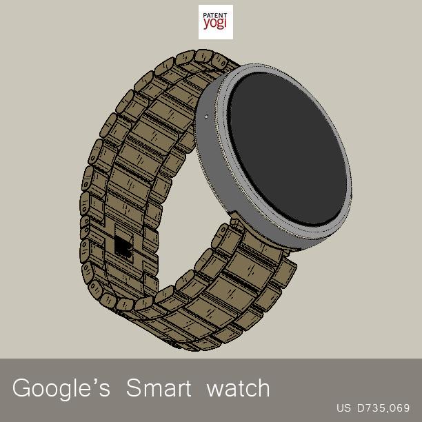 PatentYogi_D735,069_Wrist-band-for-an-electronic-device
