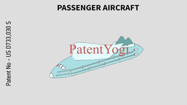PatentYogi_US D733,030 S _PASSENGER AIRCRAFT