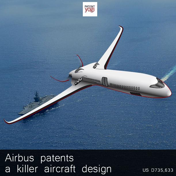 PatentYogi_D735,633_Aircraft