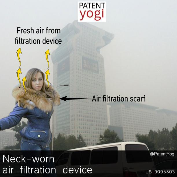 PatentYogi_US 9095803 _Neck-worn air filtration device