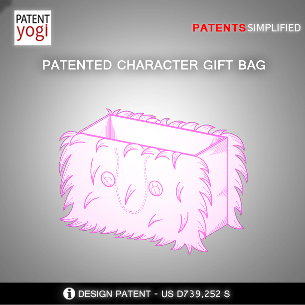 PatentYogi_CHARACTER GIFT BAG