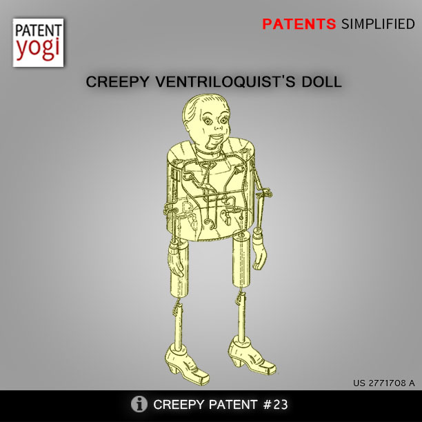 Creepy Ventriloquist's doll
