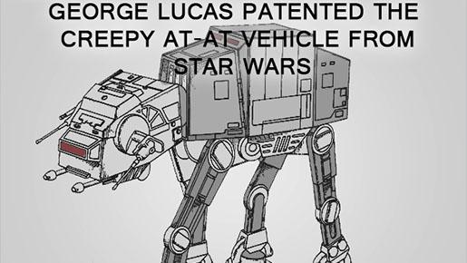 #CreepyIP No. 19 – Creepy AT-AT vehicle from Star Wars