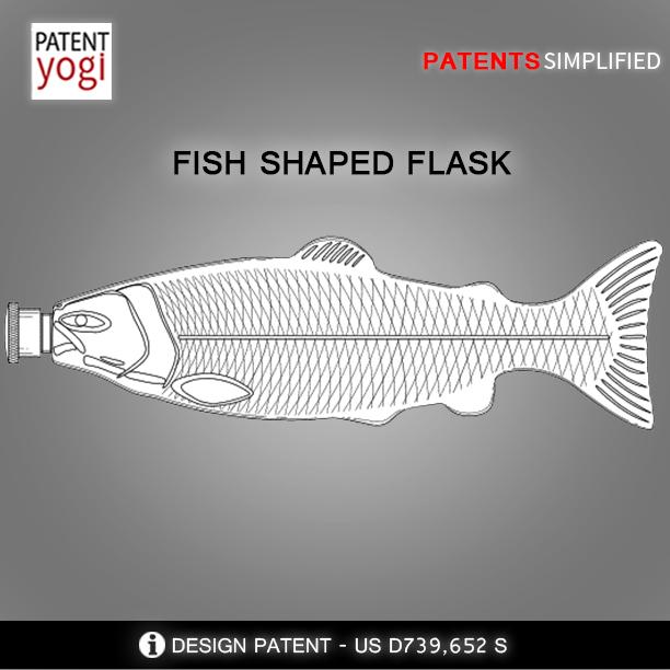 PatentYogi_FISH SHAPED FLASK