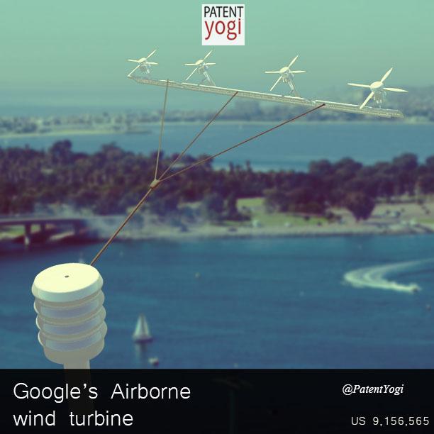 PatentYogi_Google's Airborne Wind Turbine