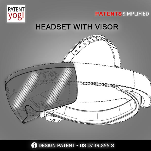 PatentYogi_HEADSET WITH VISOR