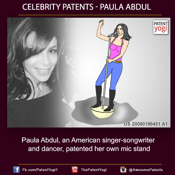 PatentYogi-Celebrity-Patents-Paula-Abdul-an-American-singer-songwriter-and-dancer-patented-her-own-mic-stand