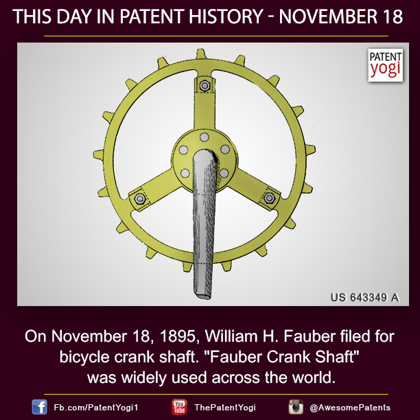 PatentYogi-On-November-18-1895-William-H.-Fauber-filed-for-bicycle-crank-shaft