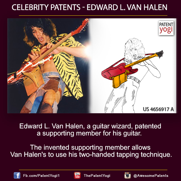 PatentYogi_Celebrity Patents -Edward L