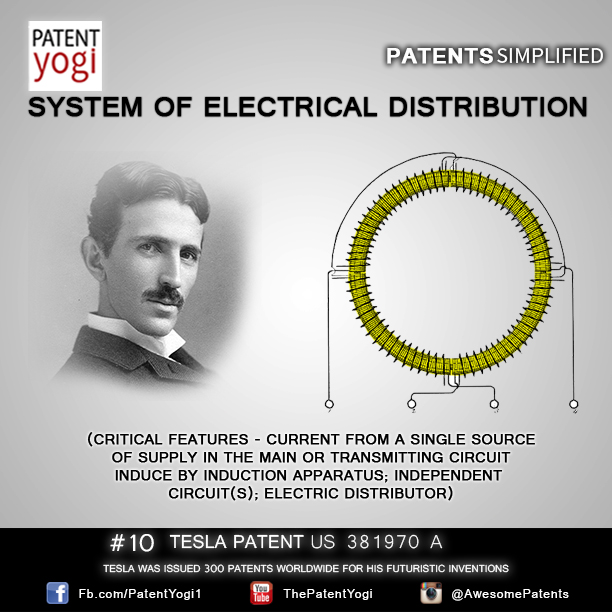 PatentYogi_TeslaPatent_10_System of Electrical Distribution