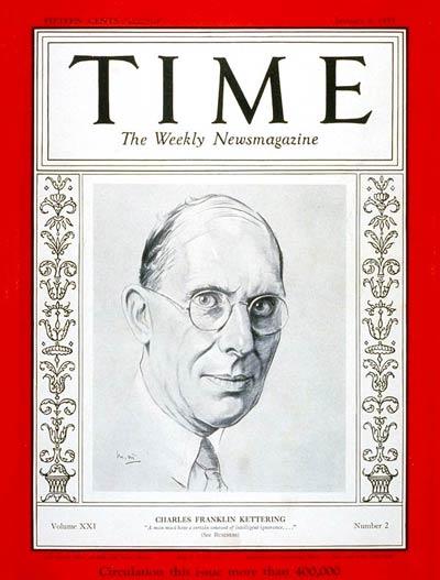 Time magazine cover January 9, 1933; Courtesy - Wikimedia