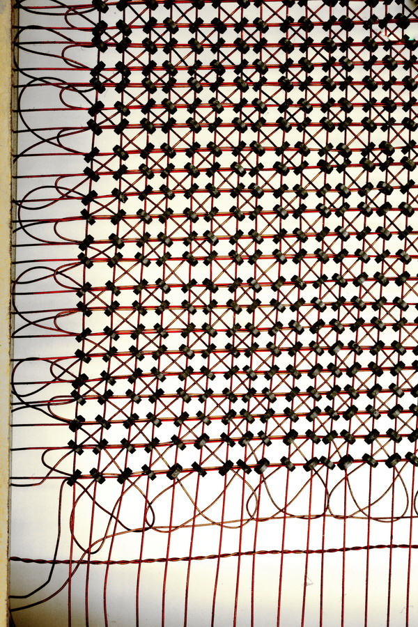 MIT Whirlwind magneticcore memory, ca. 1953