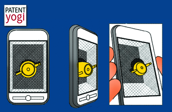 PatentYogi_Interactive Three Dimensional Displays On Handheld Devices