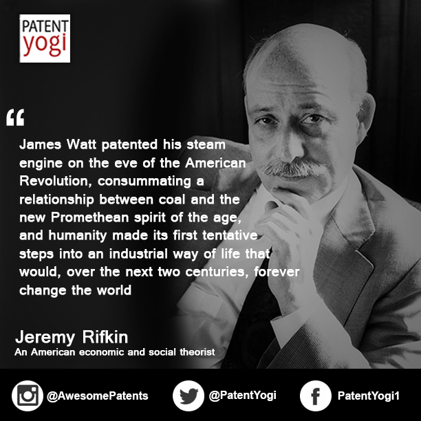PatentYogi_Patent Quote of the Week_Jeremy Rifkin