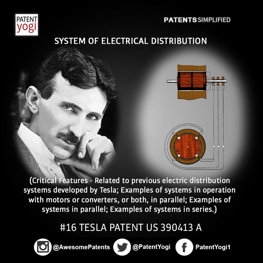 PatentYogi_TeslaPatent_16_System of electrical distribution