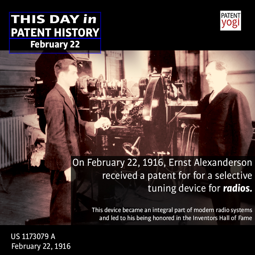 PatentYogi_This Day in Patent History_February 22