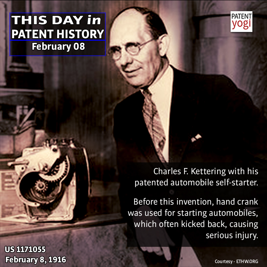 PatentYogi_This Day in Patent History_Feruary 08