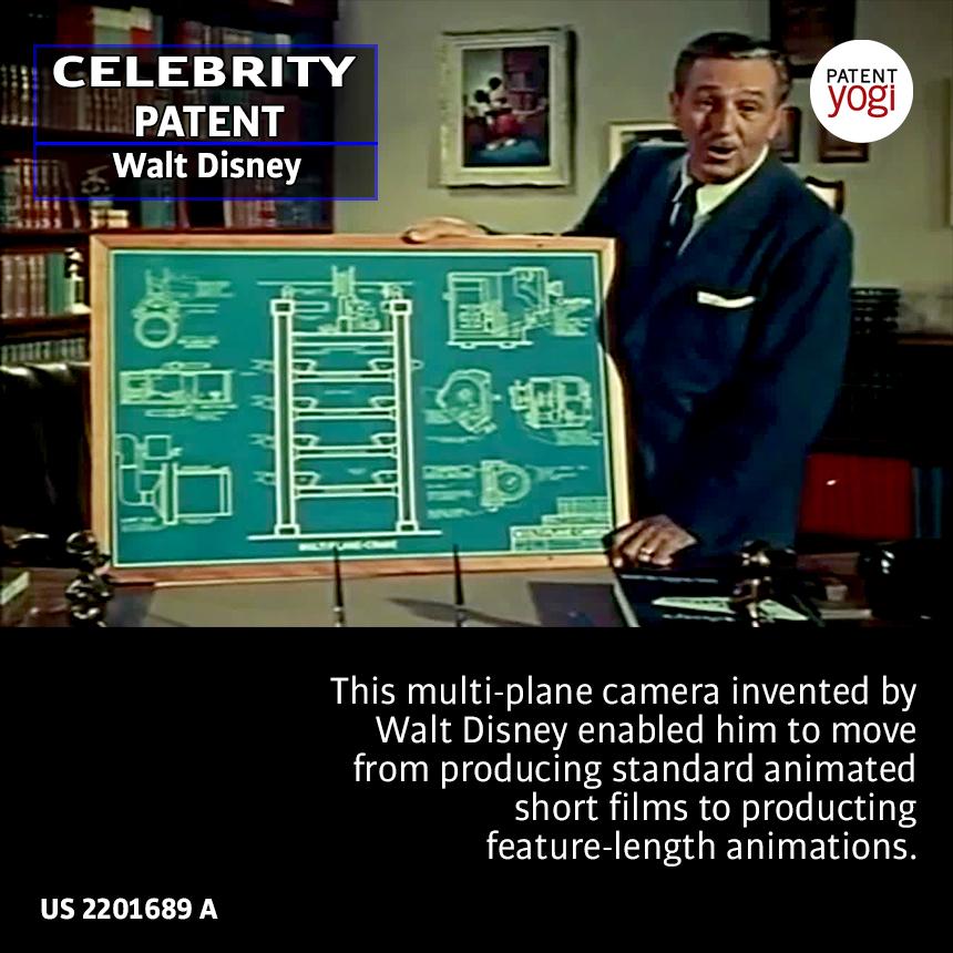 PatentYogi_CelebrityPatent_Walt Disney