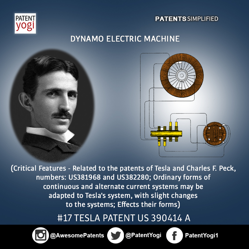 PatentYogi_TeslaPatent_17_ Dynamo Electric Machine