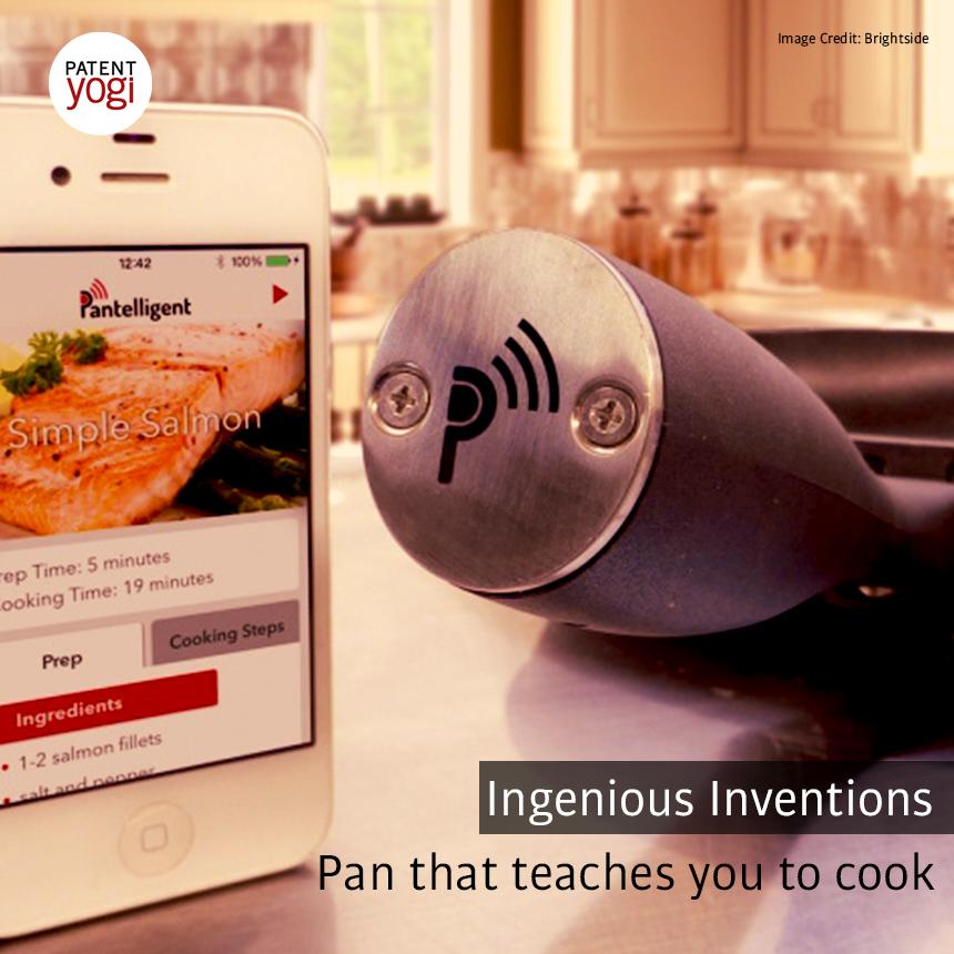 PatentYogi_Pan that teaches you to cook