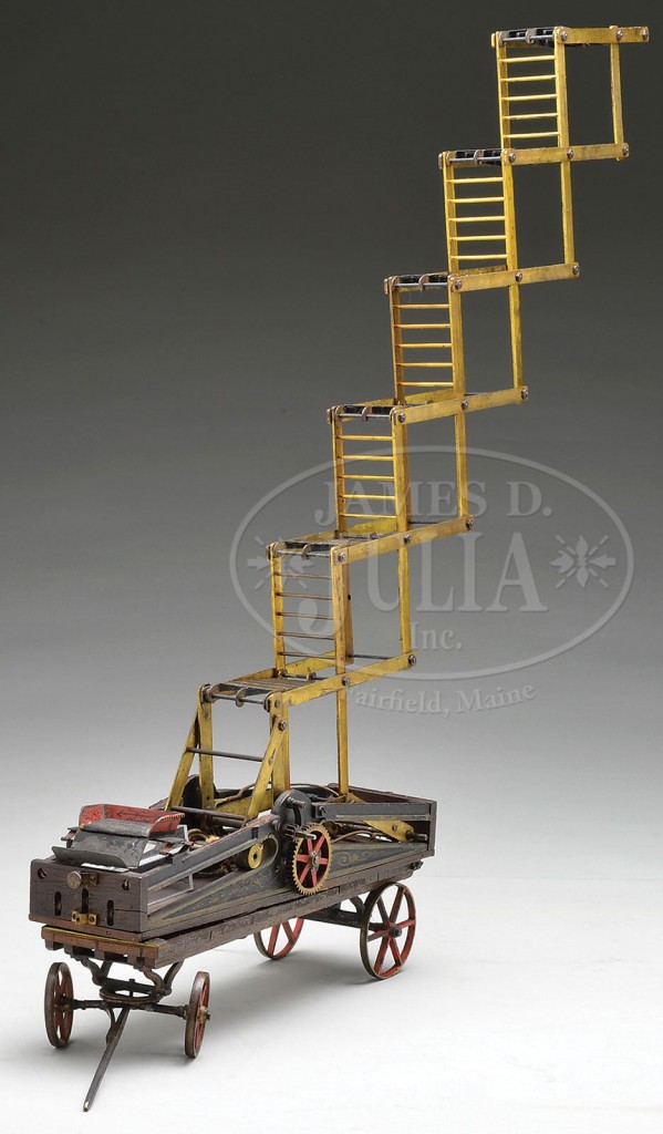 Joseph Winters Fire Escape Ladder : On may joseph winters received patent for a wagon
