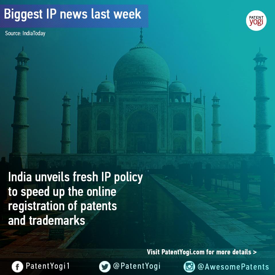 PatentYogi_Biggest IP news last week