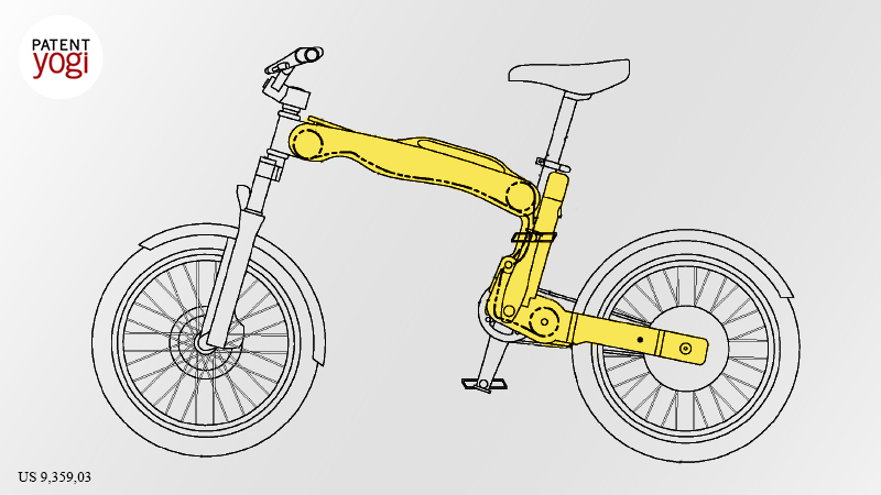 PatentYogi_Ford patents a cool foldable electric bike2