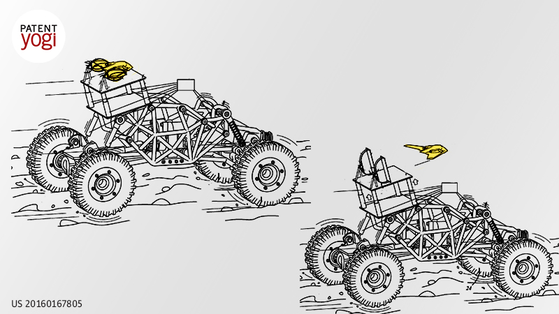 PatentYogi_Launch drones from ATVs in rough terrains3