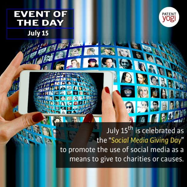 PatentYogi_Event of the day_social media giving day