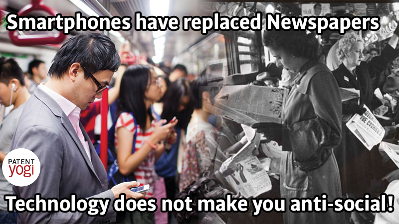 PatentYogi_Smartphones-have-replaced-Newspapers