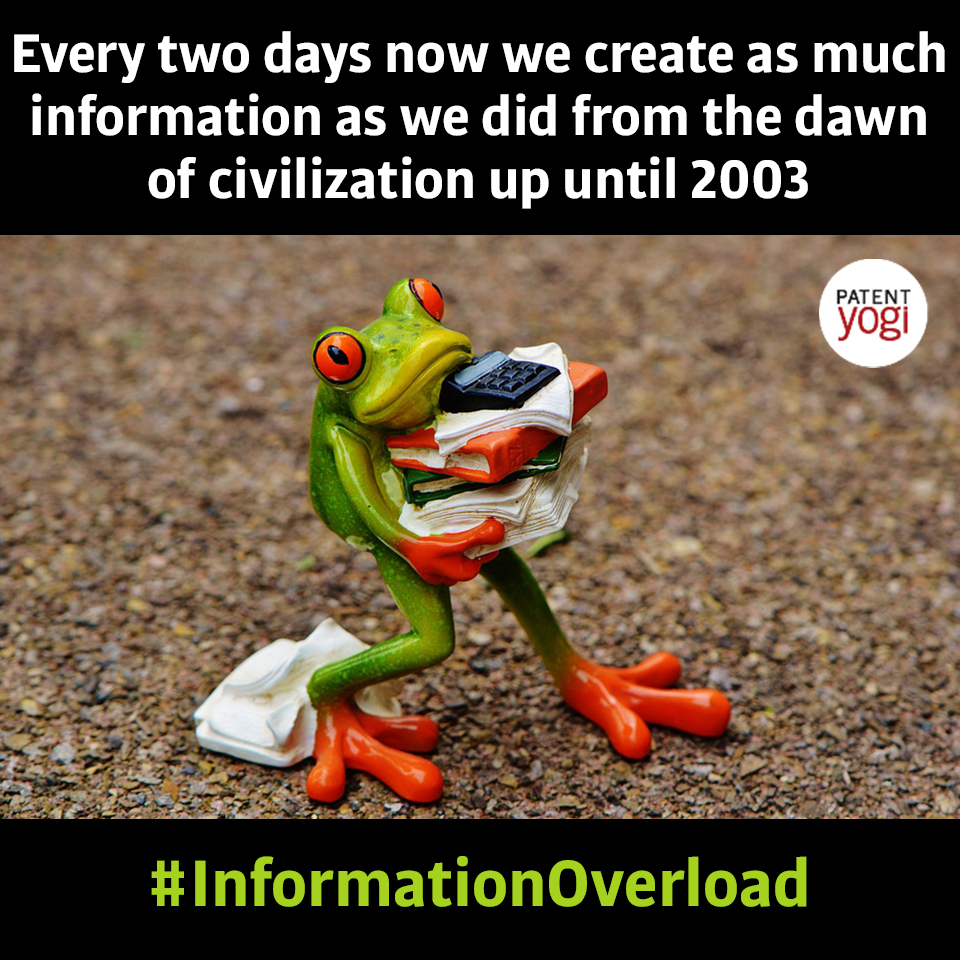 PatentYogi_Every two days now we create as much information as we did from the dawn of civilization up until 20031