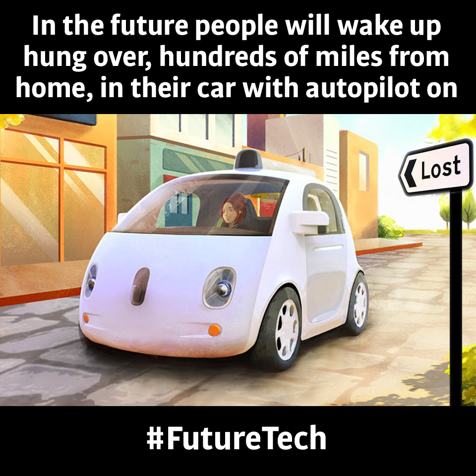 PatentYogi_In the future people will wake up hung over, hundreds of miles from home, in their car with autopilot on