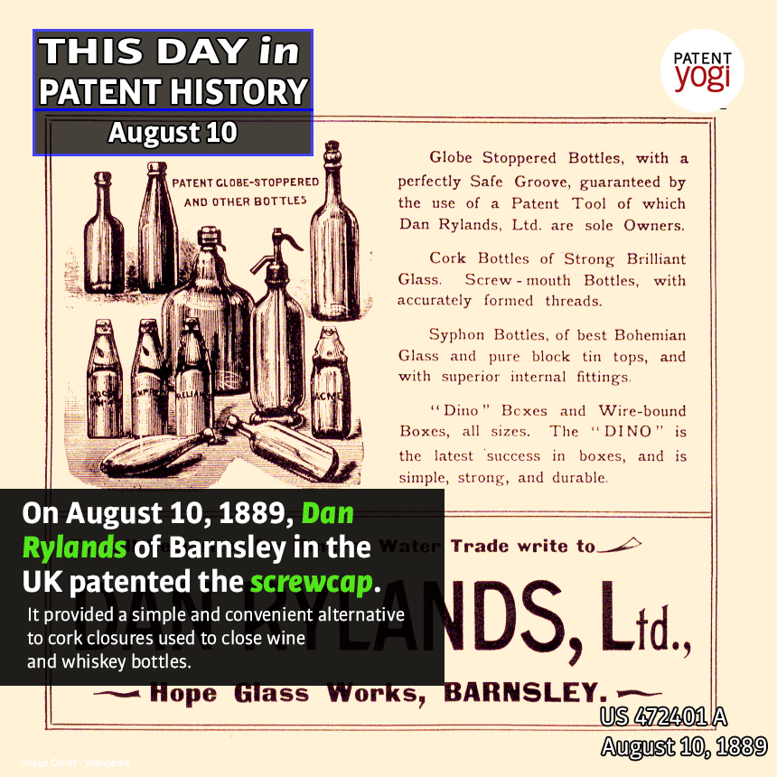 PatentYogi_This Day in Patent History_Aug 10