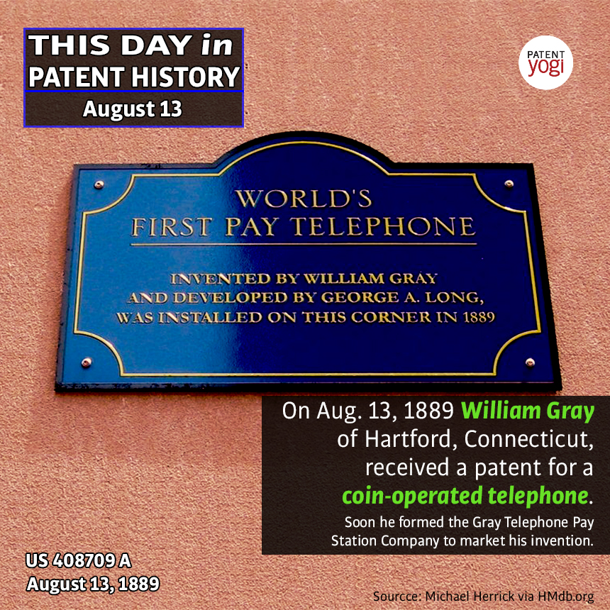 PatentYogi_This Day in Patent History_Aug 13