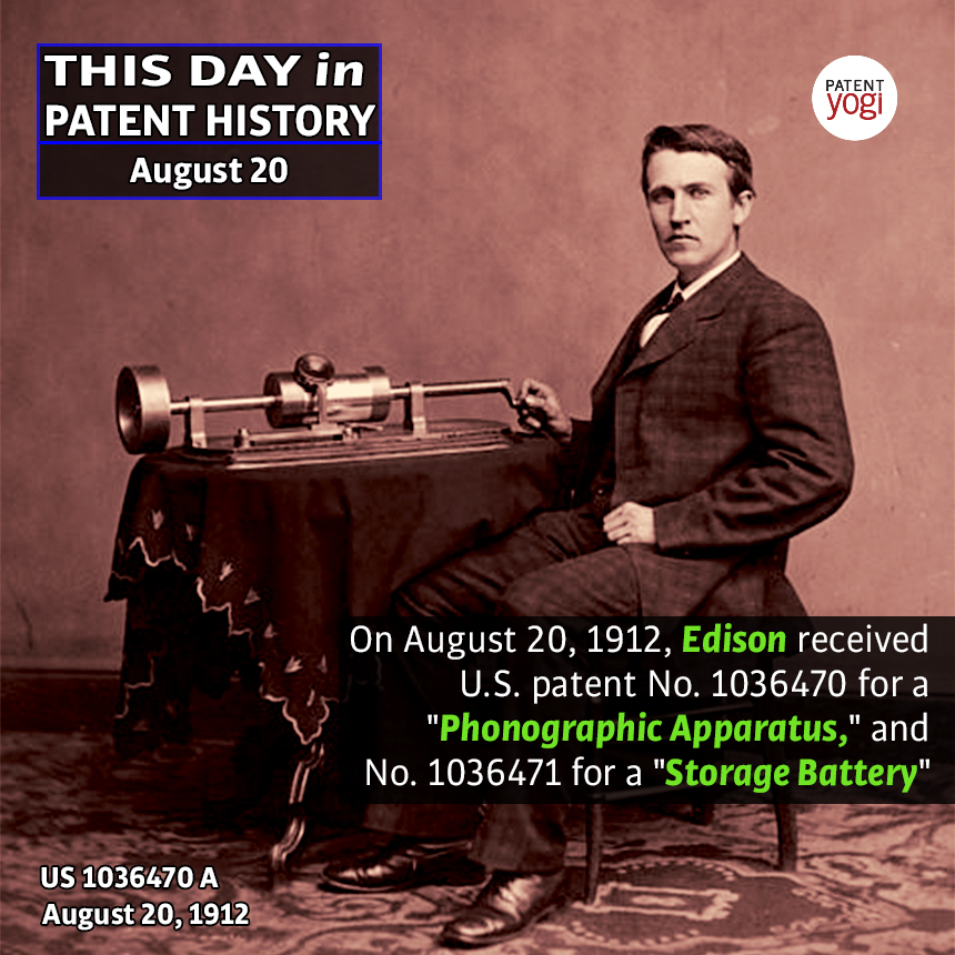 PatentYogi_This Day in Patent History_Aug 20