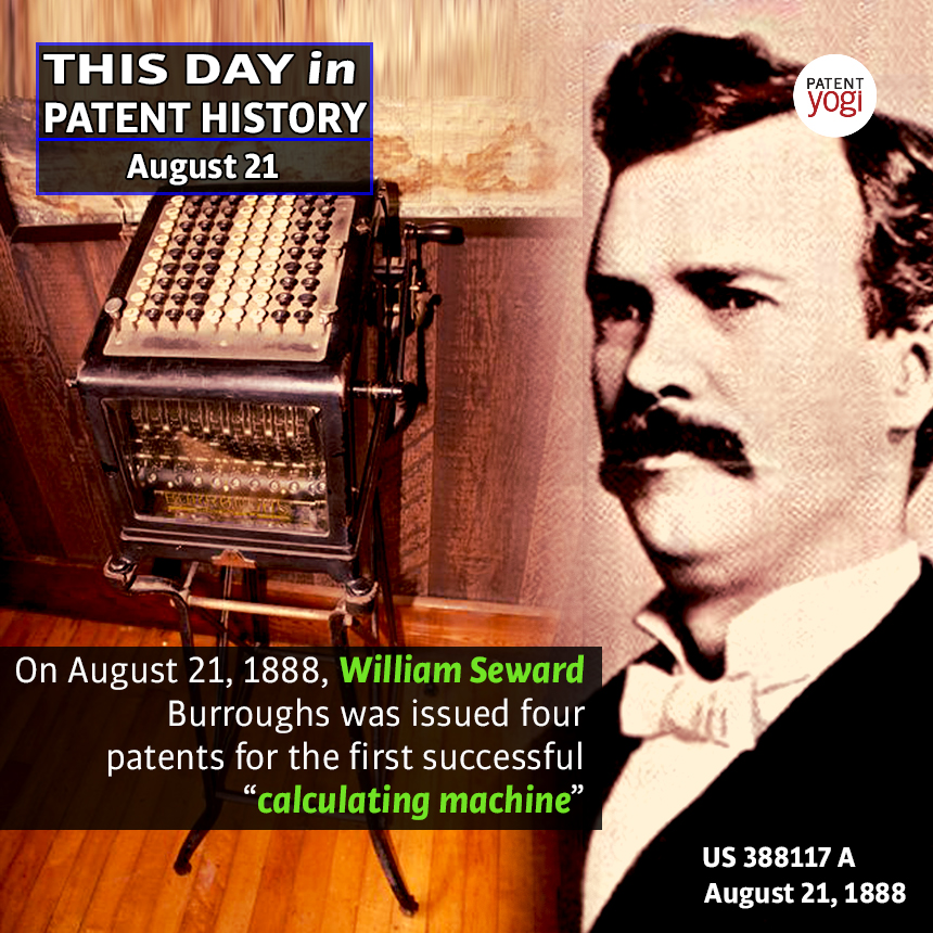 PatentYogi_This Day in Piiatent History_Aug 21