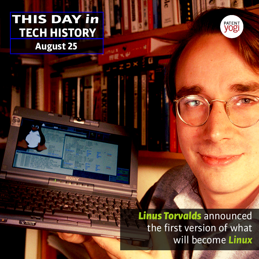 PatentYogi_This Day in Tech History_Aug 25