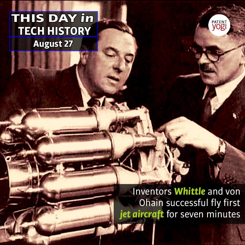 PatentYogi_This Day in Tech History_Aug 27