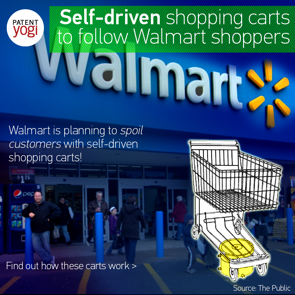 patentyogi_self-driven-shopping-carts-to-follow-walmart-shoppers