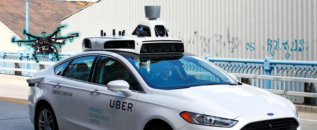 Fords Self Driving Cars Will Be Sold Along With Companion Drones