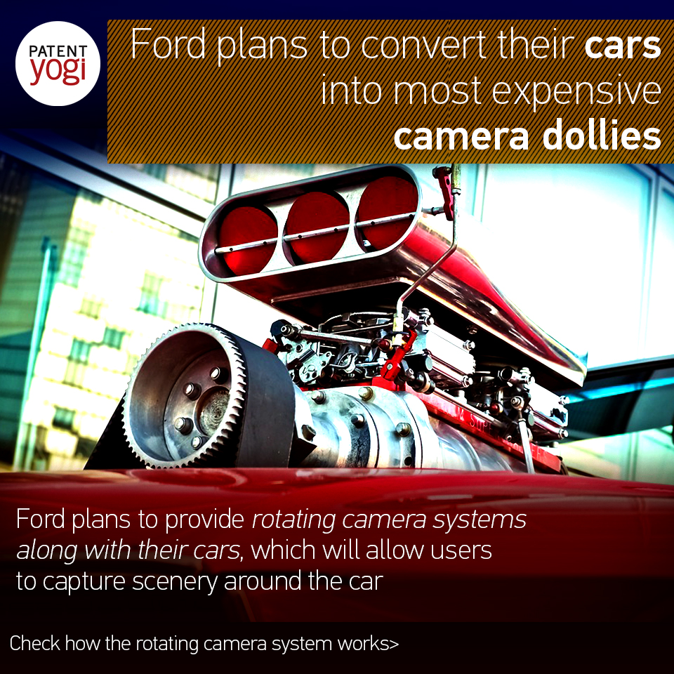 The rotating camera system will allow the camera to rotate. A rotation control module will determine a current rotational orientation of a motor and ...  sc 1 st  PatentYogi & Ford plans to convert their cars into most expensive camera ... markmcfarlin.com