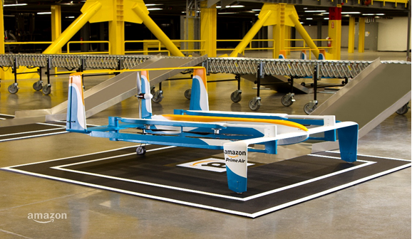 Amazon Prime Air Delivery Loading Site