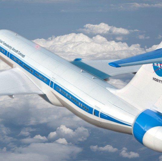 NASA Develops Futuristic Green Aircraft Technology