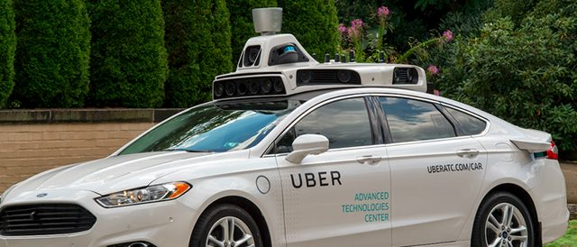 Patent reveals Uber's transition plan to autonomous vehicles
