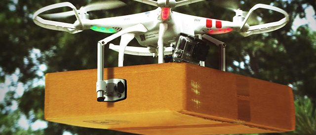 Amazon has radically altered the delivery drone