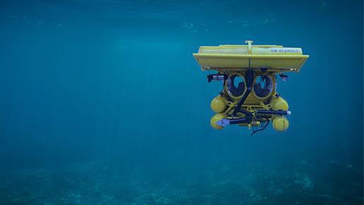 Underwater vehicles for methane transportation