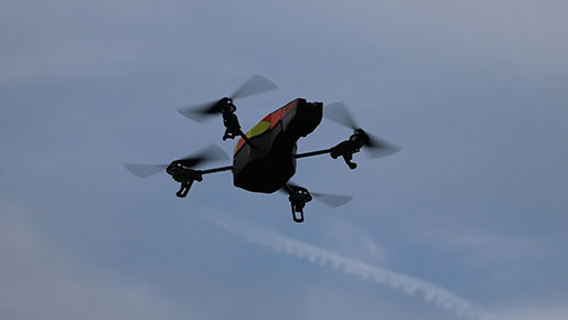 Maintenance of large structures becomes easy with unmanned aerial vehicles
